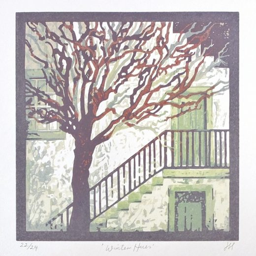 Winter Hues 150mm x150mm Edition of 24 Unmounted £55.00
